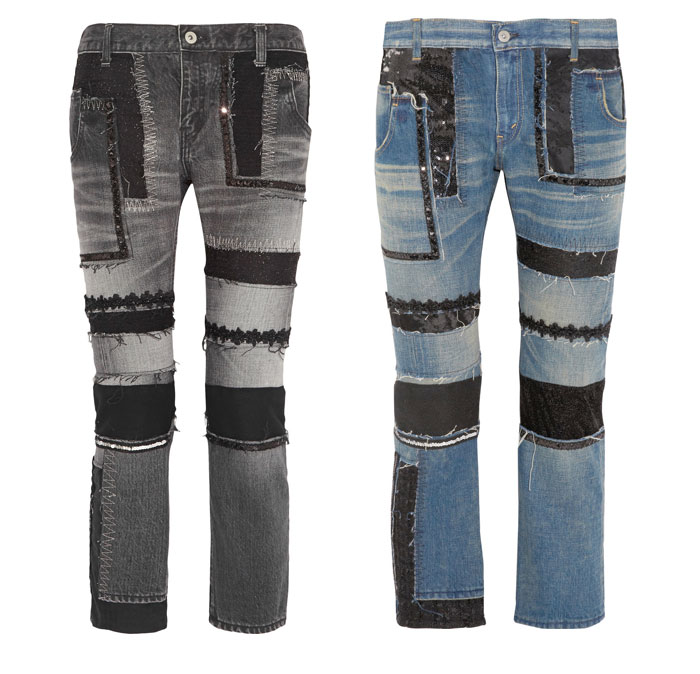 Patchwork Designs by Junya Watanabe - Jeans