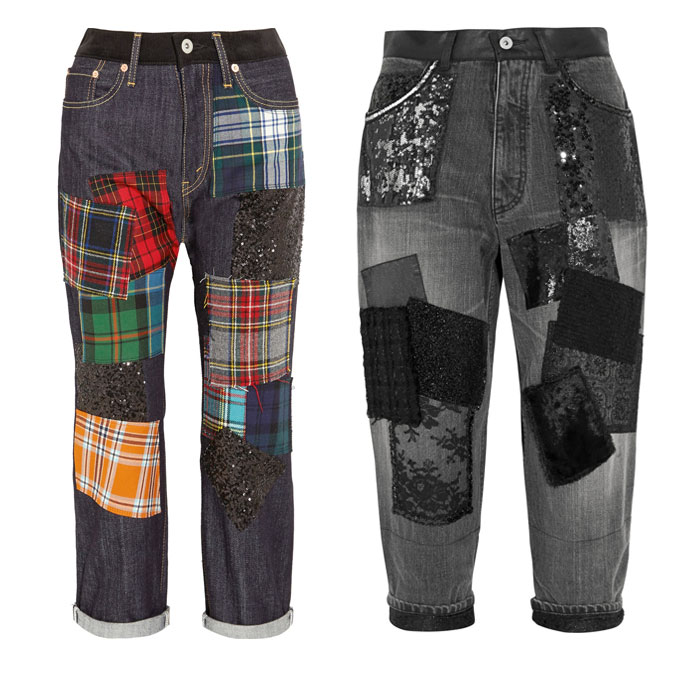 Patchwork Designs by Junya Watanabe - Jeans 2