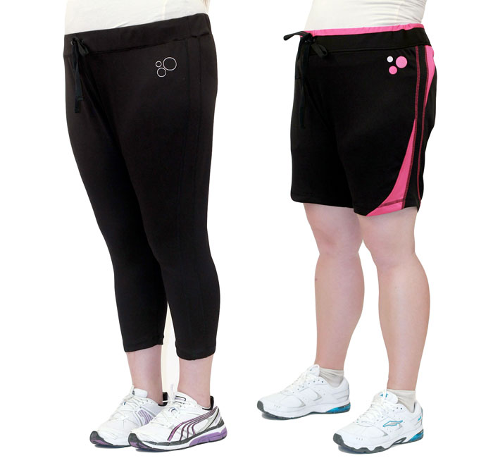 Replaceable Plus Size Workout Apparel by Fit-Labs - Bottoms
