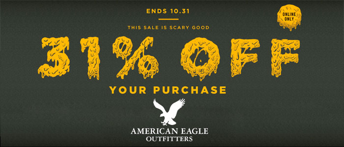 Happy Halloween!! - American Eagle Sale