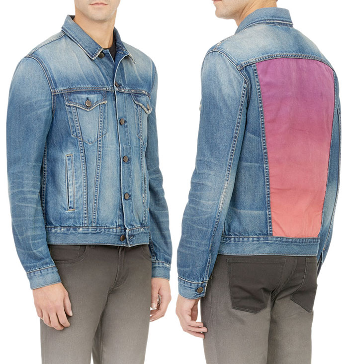 Rob Pruitt and J Brand Collaboration - Men's Painted Jacket
