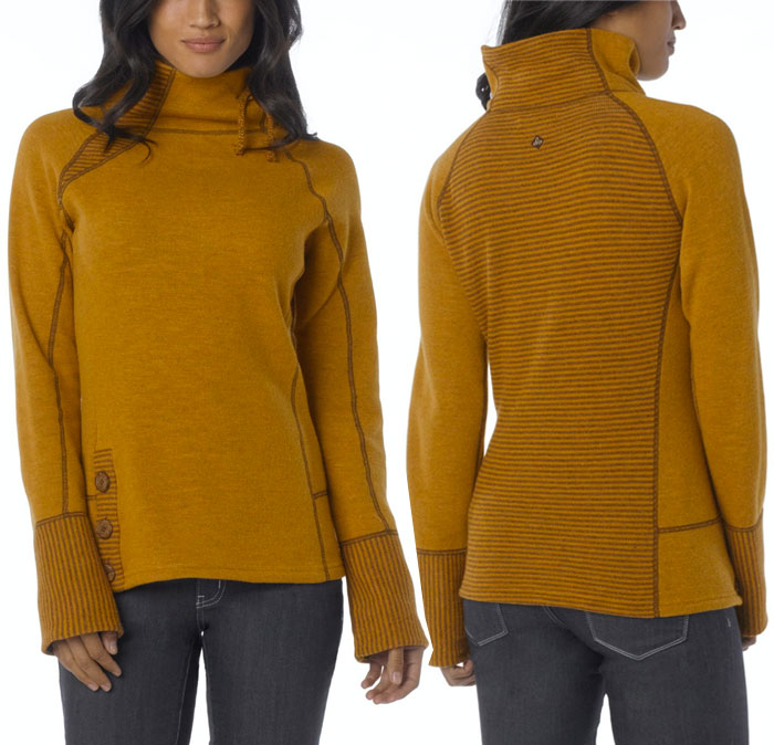 The prAna Lucia Sweater - Sahara