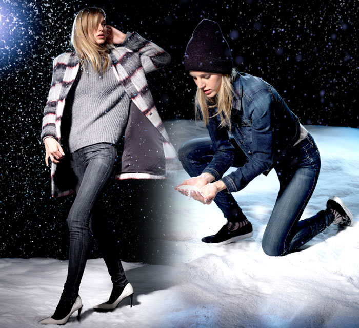 Stay Warm this Winter with Joe's Jeans Fahrenheit - The Innes and Retta