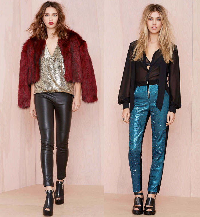 Holiday Dresses from Nasty Gal - Pants