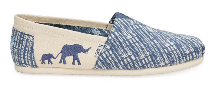 The TOMS Animal Initiative - Blue Elephant