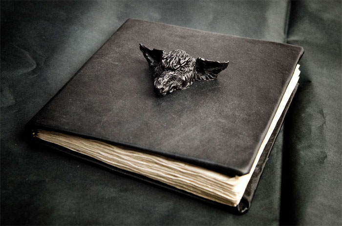 Dark and Awesome Jewelry by Macabre Art - Canidae Notebook