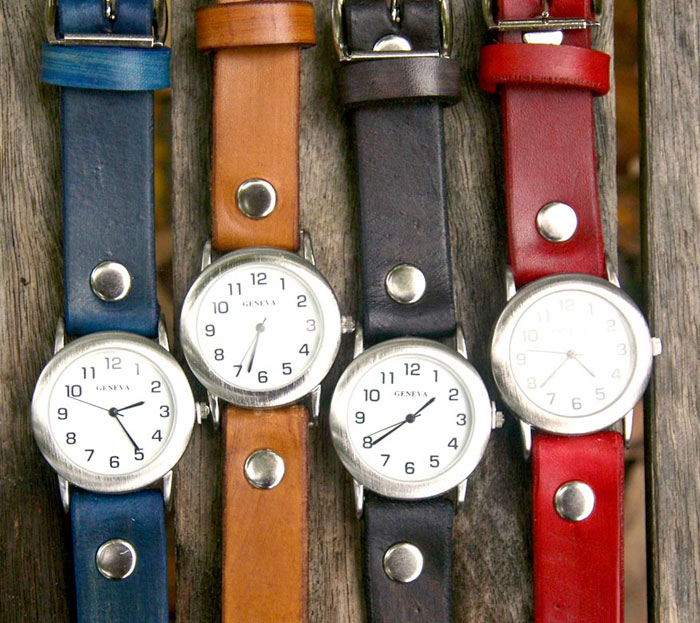 Watches at Shoppe by Scoutmob - Sunbird Leather Watch