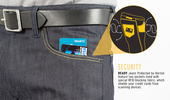 Jeans That Protect Your Identity by BetaBrand