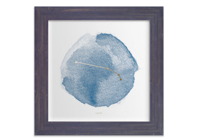 Zodiac Paintings by Annie Clark at Minted - Aries