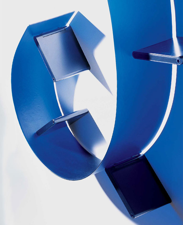 Bookworm by Kartell Shelving - Blue