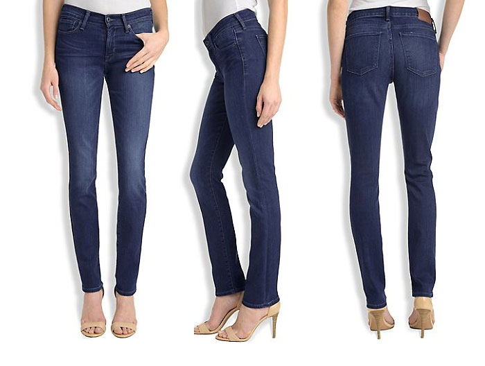 Lucky Brand Introduces Italian Denim - Brooke Mid-Rise Straight