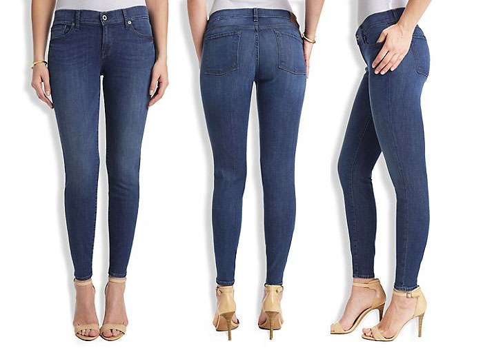 Lucky Brand Introduces Italian Denim - Charley Low-Rise Skinny