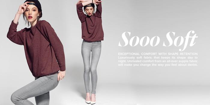 Denim vs the Activewear Industry Editorial on Denimology - Joe's Sooo Soft