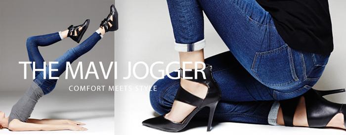 Denim vs the Activewear Industry Editorial on Denimology - Mavi Jogger