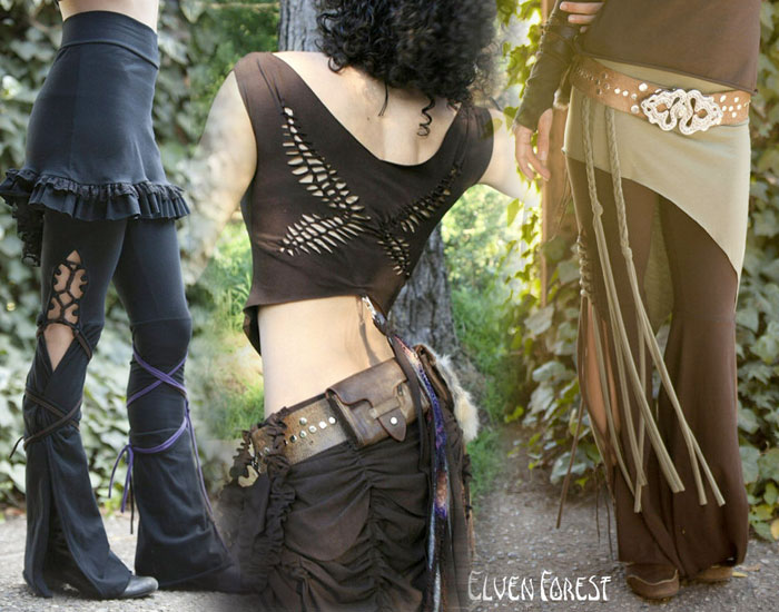 Independent Designers for Festival Attire or Alternative Style - Elven Forest
