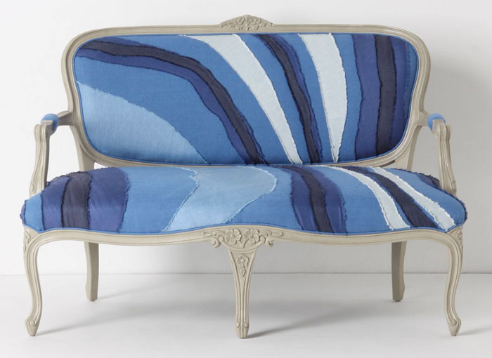 Denim Beyond Jeans - Anthropologie Louisa Settee