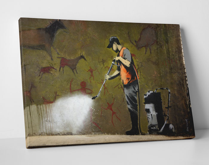 Banksy Art at Touch Of Modern - Power Washer