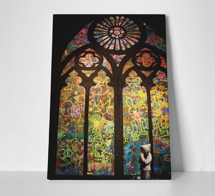 Banksy Art at Touch Of Modern - Street Art Cathedral