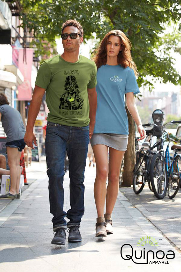 Eco Friendly Tees by Quinoa Apparel