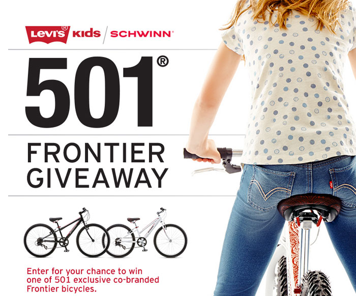 Levi's Commuter Apparel and Schwinn Giveaway - Levi's 501 x Schwinn Giveaway