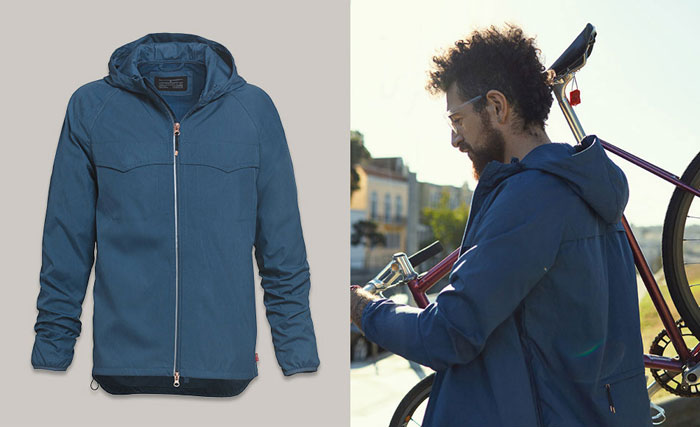 Levi's Commuter Apparel and Schwinn Giveaway -  Men's Commuter™ Packable Windbreaker
