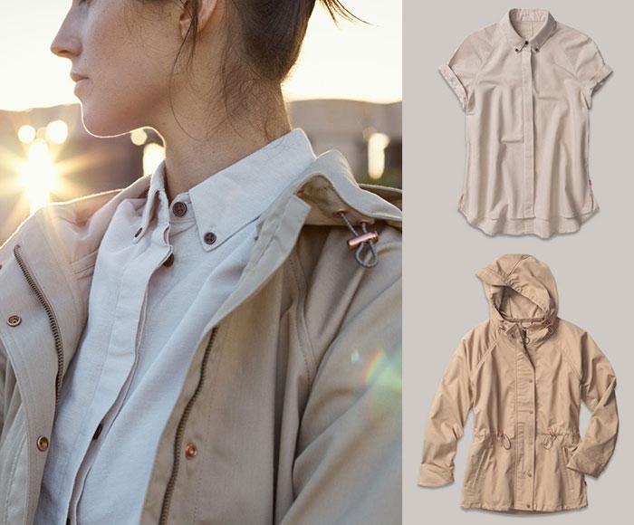 Levi's Commuter Apparel and Schwinn Giveaway - Button Down Shirt and Windbreaker