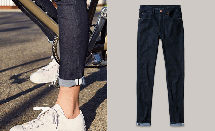 Levi's Commuter Apparel and Schwinn Giveaway - Levi's Commuter Skinny Jean