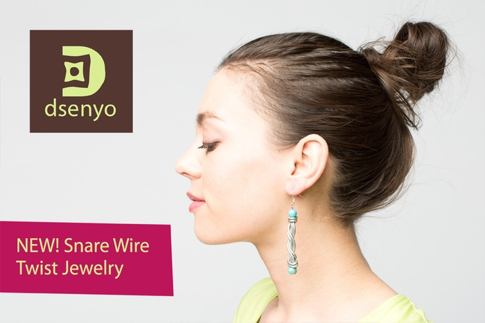 Snare Wire Jewelry for African Wildlife by Dsenyo