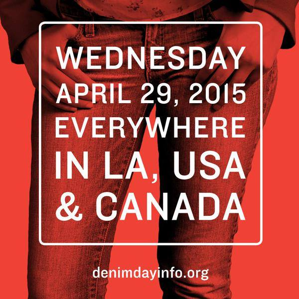 Today is Denim Day 2015