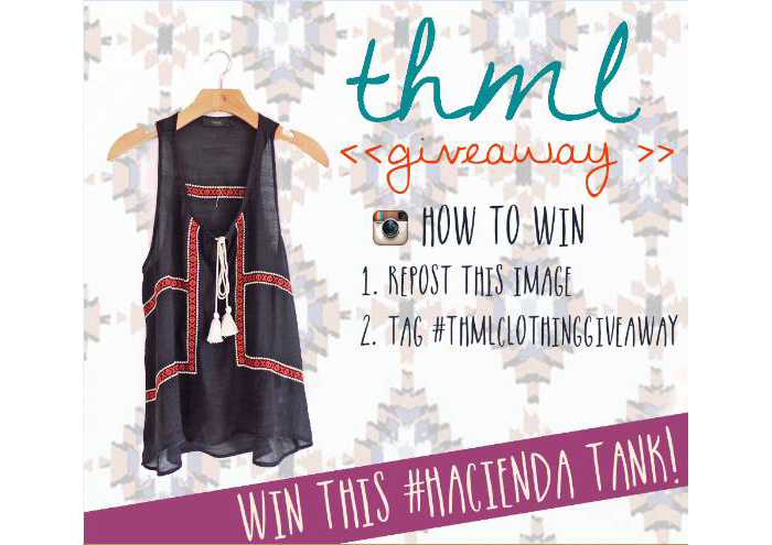 Flirty Sophistication by THML - Giveaway