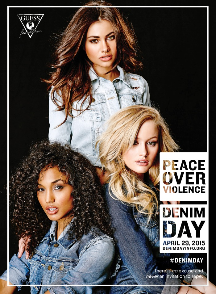 Today is Denim Day 2015 - Guess