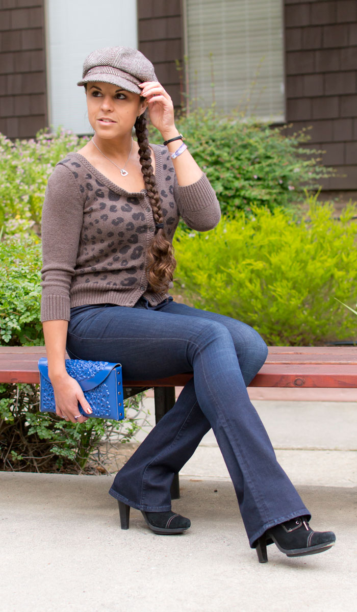 AYR Skinny Flare in Jac's Jean Review on Denimology - Sitting