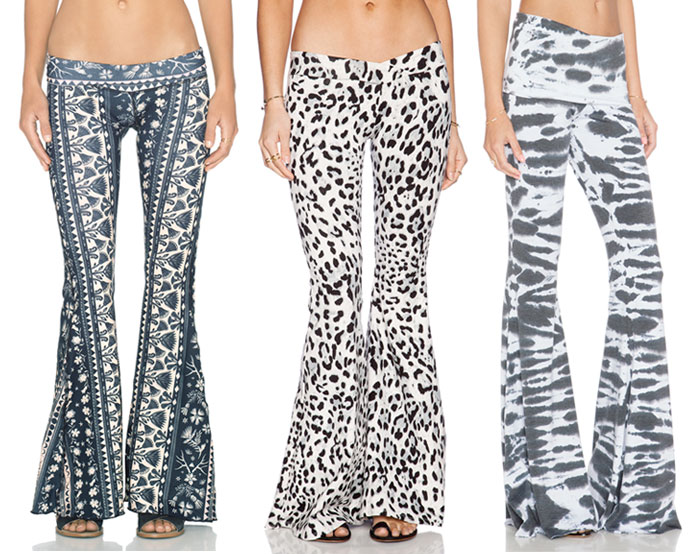 Currently Crushing on Bell Pants - Black and White