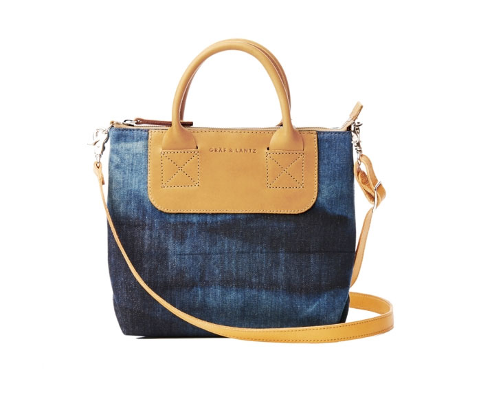 Italian Denim Bags by Graf & Lantz - Bedford Crossbody