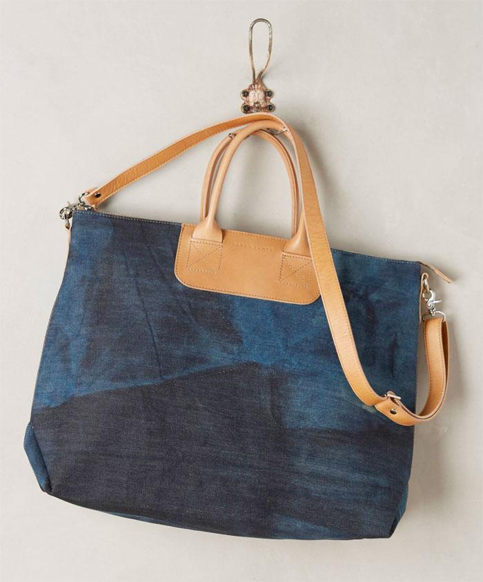 Italian Denim Bags by Graf & Lantz - Bedford Tote