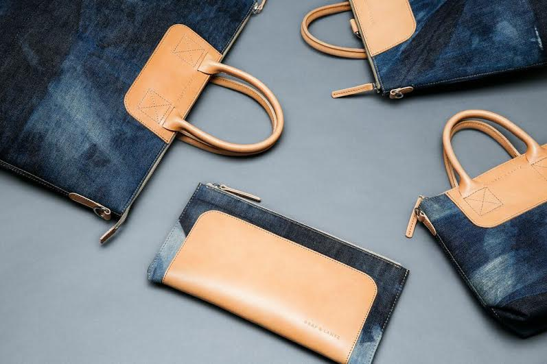 Italian Denim Bags by Graf & Lantz