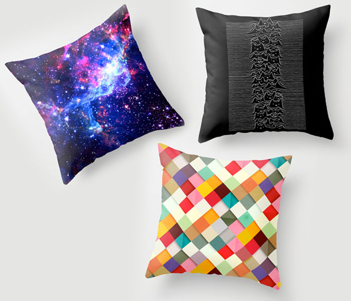 Society6 and The Cotery for Independent Artists - Society 6 - Throw Pillows