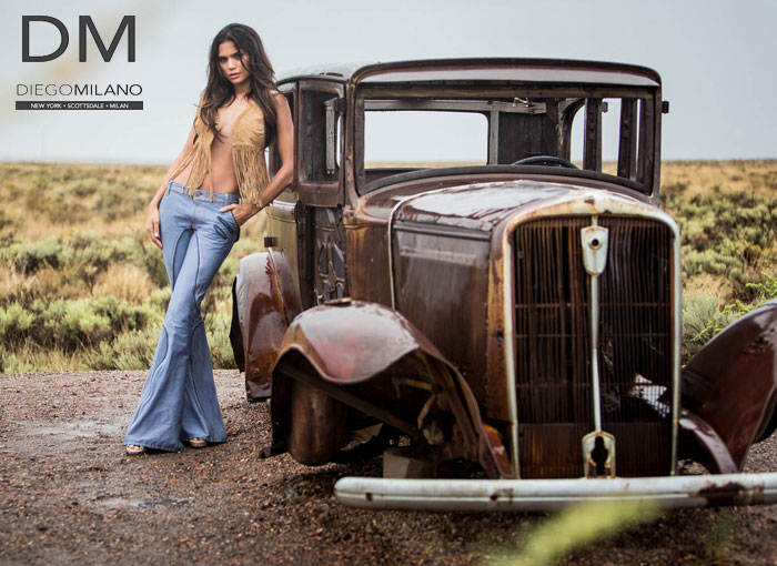 Luxury Denim for the Stylish Nomad by Diego Milano