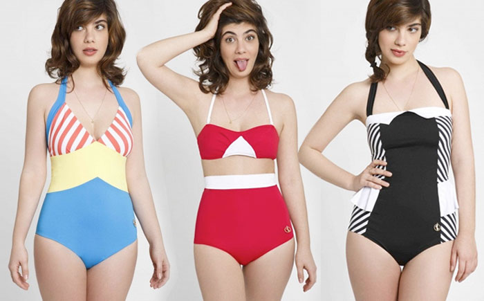 Chic Retro Swimwear by Ugly Duckling