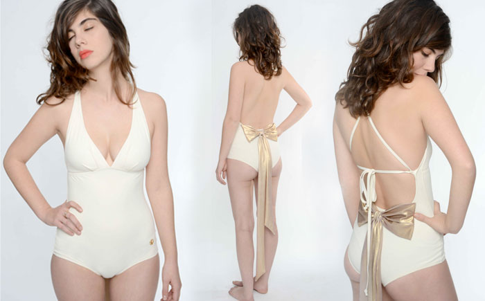 Chic Retro Swimwear by Ugly Duckling - Bridal