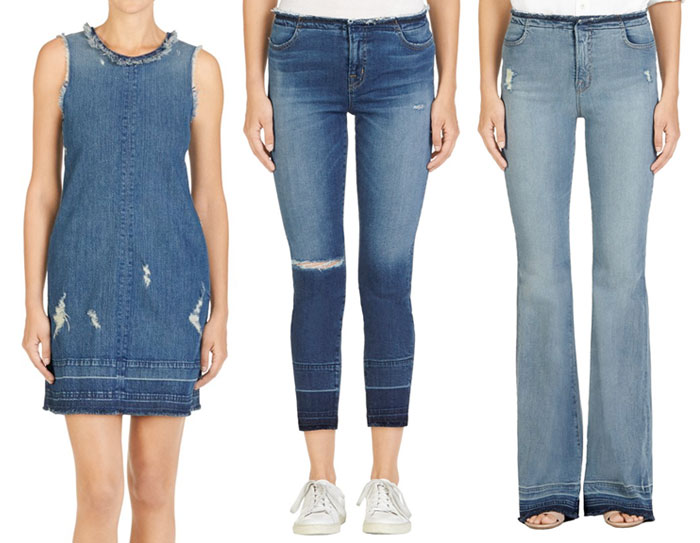 Frayed Hems Beyond the Denim Short - J Brand Dress and Jeans