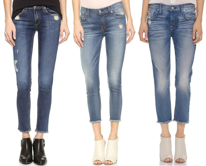 Frayed Hems Beyond the Denim Short - Rag & Bone, 7 For All Mankind