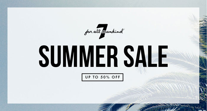Denim Sale Roundup - 7 For All Mankind