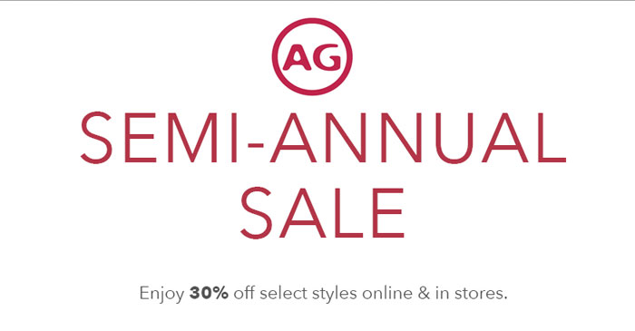Denim Sale Roundup - AG