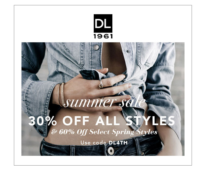 Denim Sale Roundup - DL1961