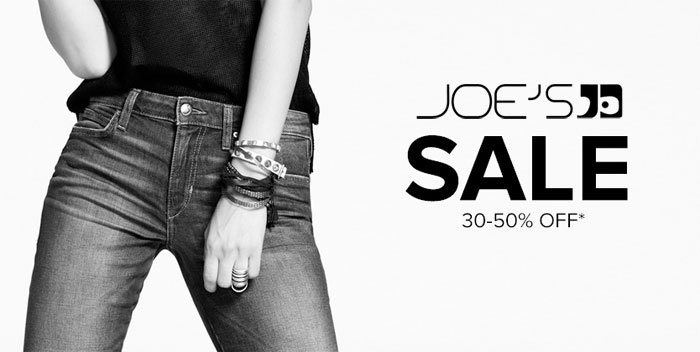 Denim Sale Roundup - Joe's