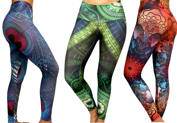 Party Worthy Athletic Leggings - Sadhana