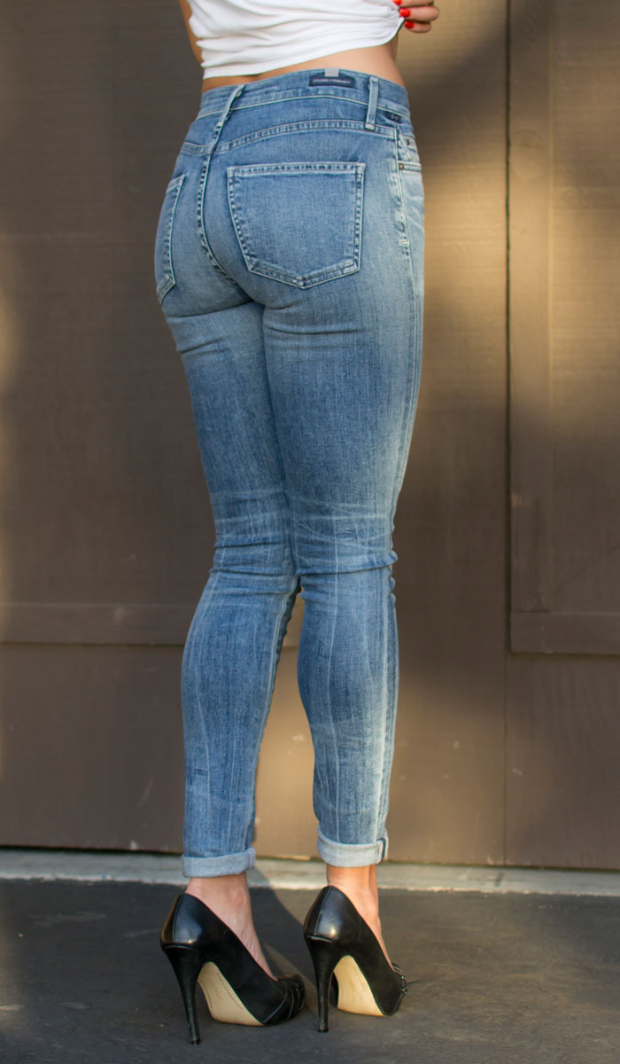 Finding My Fit with Fitcode - Jeans Back Closeup