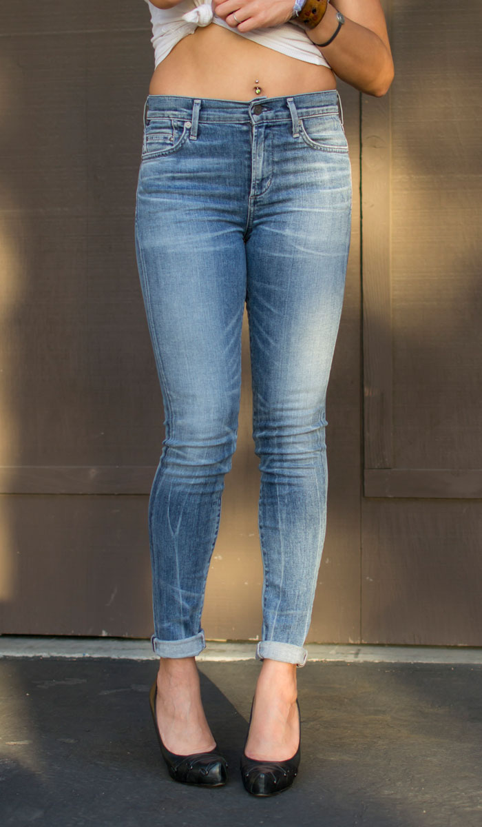 Finding My Fit with Fitcode - Jeans Front Closeup