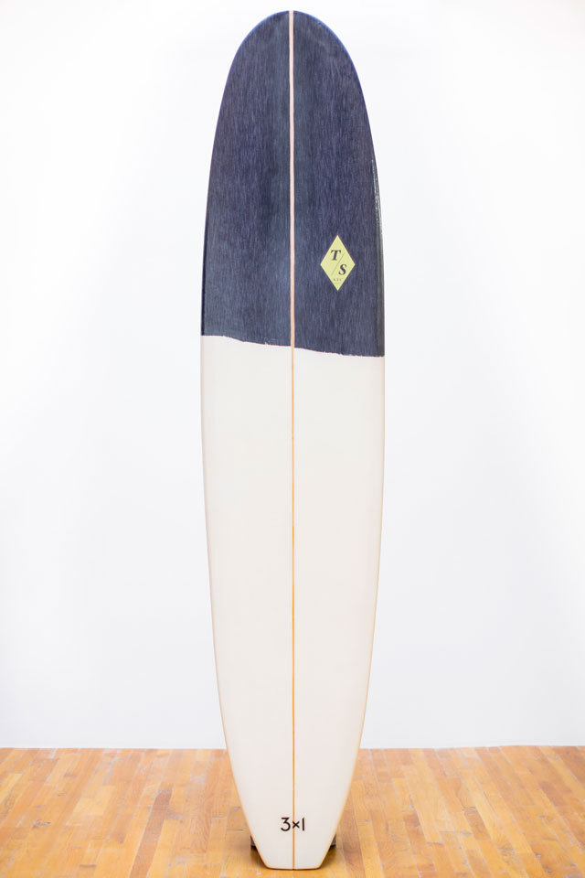 Denim Surfboards by 3x1 and Token - Token Pine Surfboard